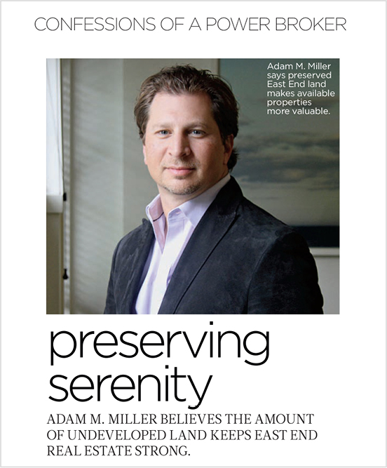 Preserving Serenity Hamptons Magazine August 2012